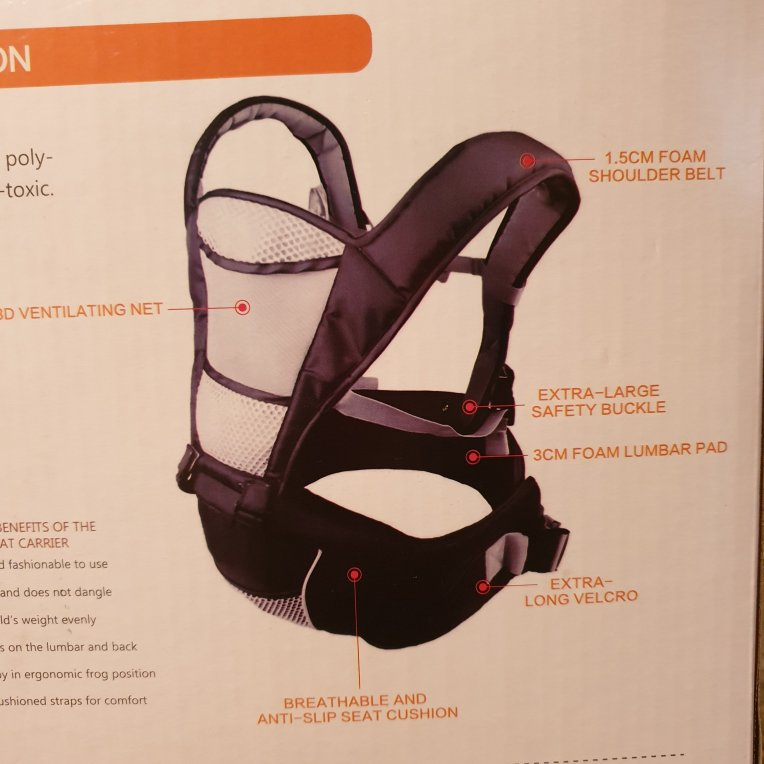 Nimnik 4 In 1 Multi Position Baby Carrier And Hip Seat Review